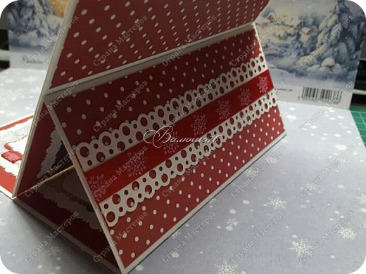 коробочка. Очень понравились открытки мастерицы Ольги  Краевой.  http://stranamasterov.ru/node/474252?c=favorite фото 13