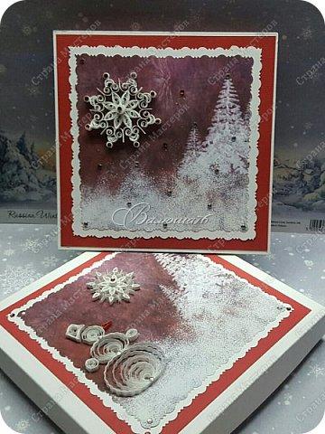 коробочка. Очень понравились открытки мастерицы Ольги  Краевой.  http://stranamasterov.ru/node/474252?c=favorite фото 15
