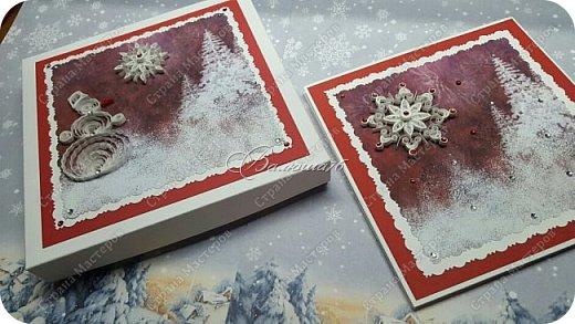коробочка. Очень понравились открытки мастерицы Ольги  Краевой.  http://stranamasterov.ru/node/474252?c=favorite фото 16