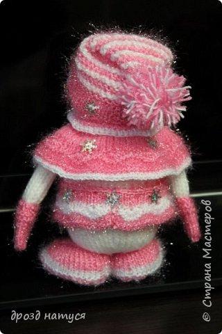 Новогодние снеговички по МК Анастасии Зяблицкой фото 3