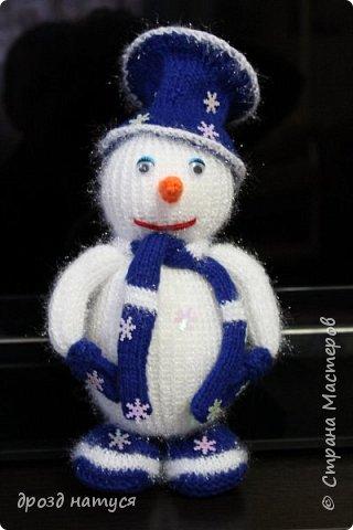 Новогодние снеговички по МК Анастасии Зяблицкой фото 4