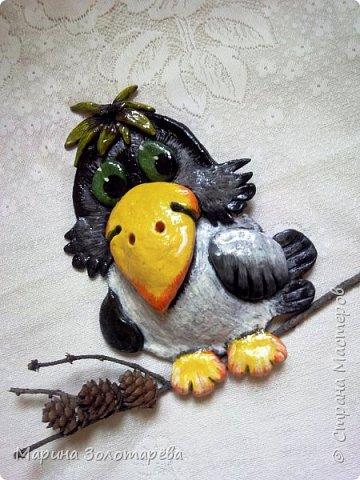 Всем здравствуйте)  Принимайте очередные творенья по мотивам СМ)))  Застенчивая ворона) фото 2