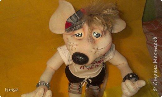 """Здравствуйте!!! Каркасные куклы в технике """" Скульптурный текстиль"""". Материал :капрон синтепон. Все части тела подвижны, могут сидеть, стоять и """"танцевать... Высота: 40 см. Если возникнут какие-либо вопросы с удовольствием отвечу.  фото 3"""