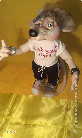 """Здравствуйте!!! Каркасные куклы в технике """" Скульптурный текстиль"""". Материал :капрон синтепон. Все части тела подвижны, могут сидеть, стоять и """"танцевать... Высота: 40 см. Если возникнут какие-либо вопросы с удовольствием отвечу.  фото 9"""