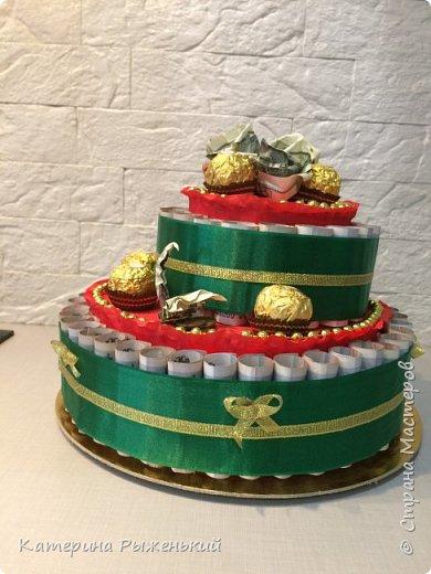Всем доброго дня! Я сегодня к вам вот с таким тортиком для именинницы рождённой под знаком зодиака ♏️ фото 1