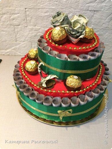 Всем доброго дня! Я сегодня к вам вот с таким тортиком для именинницы рождённой под знаком зодиака ♏️ фото 2