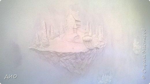 Роспись стены в детской комнате. Стена 4.5Х2.3 метра. Снято на мобильный, так что прошу прощения за качество фото. фото 13
