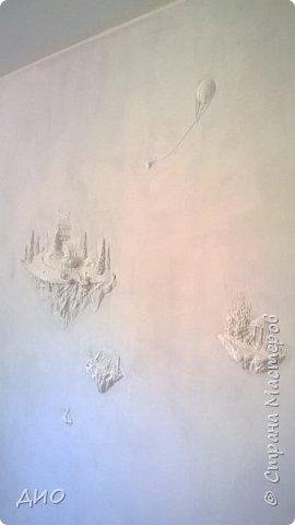 Роспись стены в детской комнате. Стена 4.5Х2.3 метра. Снято на мобильный, так что прошу прощения за качество фото. фото 17