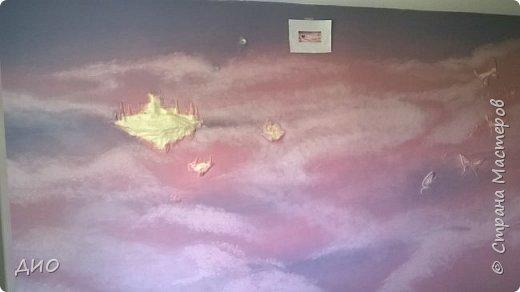 Роспись стены в детской комнате. Стена 4.5Х2.3 метра. Снято на мобильный, так что прошу прощения за качество фото. фото 19