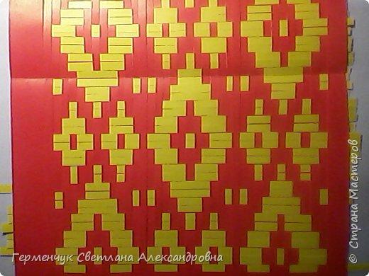 Салфетка с белорусским национальным орнаментом  фото 6