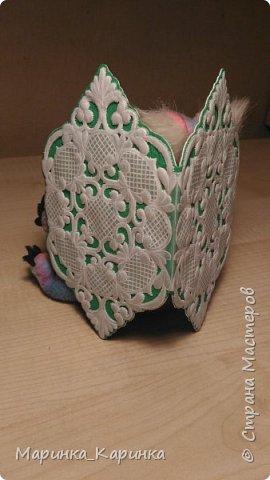 Добрый день! Давно хотела попробовать технику пергамано. Решила сделать конвертик для денег в подарок. фото 2