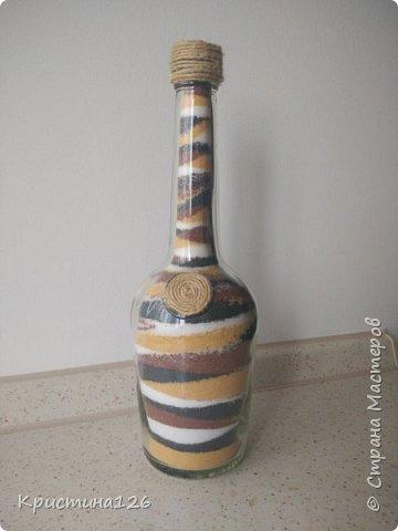 В свое время вдохновилась бутылками- насыпушками. А композиции с суккулентами были сделаны совсем недавно фото 2