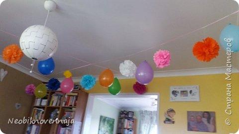 """Всем огромный привет! На днях я проводила тематическую вечеринку, о которой хочу вам рассказать и показать :) Называлась она Baby Shower. Та-дамммм! да-да-да - я снова скоро буду мамой! :) Surprise.... :) """"Baby shower, дословно — «младенческий дождь») — обычай устраивать вечеринку для будущей матери и праздновать рождение будущего ребёнка. В современном виде бейби шауэр начал практиковаться в США после Второй мировой войны, а под влиянием американской культуры постепенно набирал и продолжает набирать популярность в ряде европейских стран. Выражение baby shower подразумевает, что виновницу праздника в переносном смысле забрасывают подарками (англ. the mother is showered with gifts, дословно — «мать облита подарками»).История его началась ещё в древнем Египте, но в современном виде этот обычай появился в конце XIX века (wikipedia.org) фото 3"""