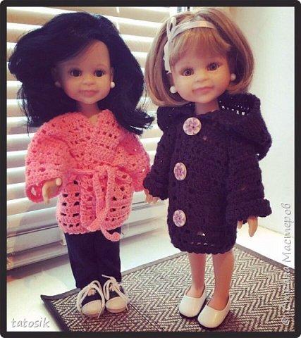 Одежда для кукол Paola Reina, вязанная крючком фото 7
