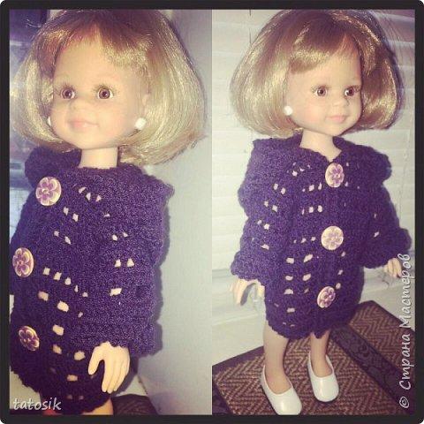 Одежда для кукол Paola Reina, вязанная крючком фото 5