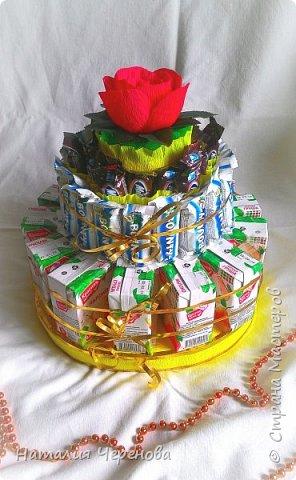 Тортик для детей в школу, Сынуля угощал) фото 1