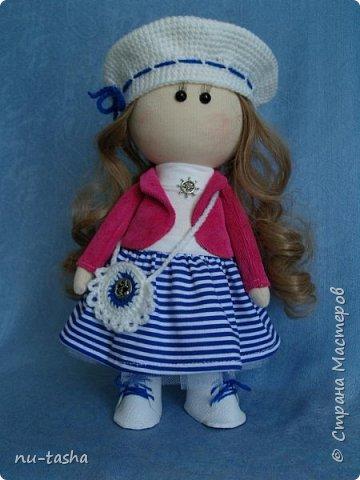 В продолжение темы http://stranamasterov.ru/node/1046004 шью куколок-малышек. Так приятно одевать этих милых девочек. В планах кукла со съемной одеждой, но пока не могу оторваться от этих крошек. Так что знакомьтесь- Розочка. фото 3