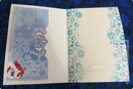 Еще парочка новеньких  новогодних  открыток... фото 3