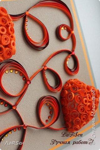 Открытка на день знакомства! Идея - два сердца встретились в  сети интернета, вот и связала сердца проводами... фото 2