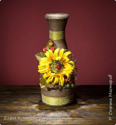 Очень люблю декорировать разные бутылочки, хороший подарок.  фото 11