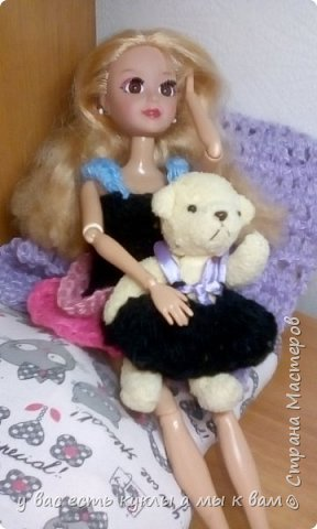 всем привет ! Сегодня Лили вместе со своим питомцем Рози покажет новые платья фото 1