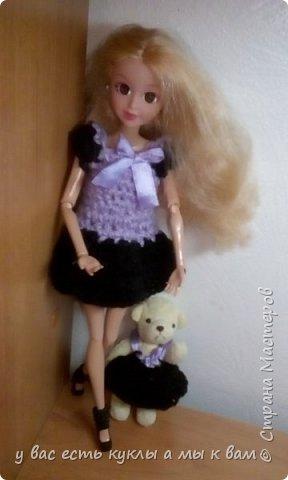 всем привет ! Сегодня Лили вместе со своим питомцем Рози покажет новые платья фото 4