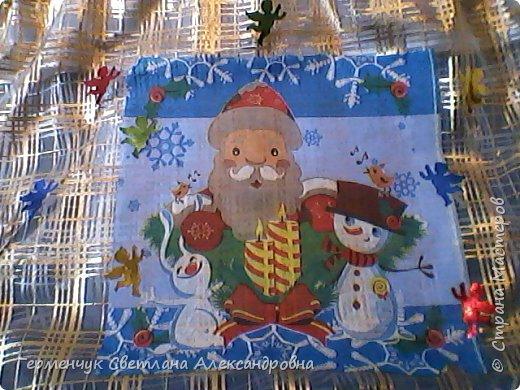 Мешок для подарков на Новый год и Рождество фото 3