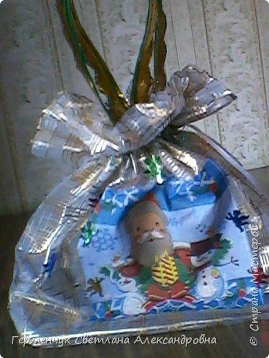 Мешок для подарков на Новый год и Рождество фото 11