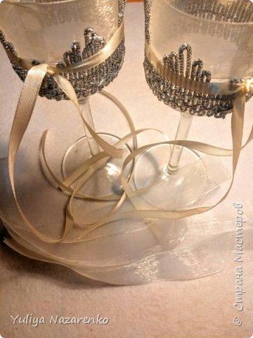 Гамма: серебро + цвет шампанского. Ниже мастер - класс) фото 5