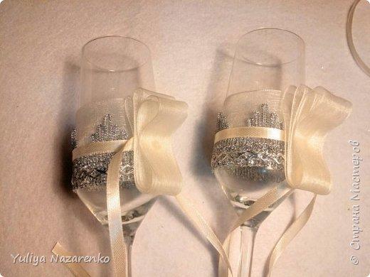 Гамма: серебро + цвет шампанского. Ниже мастер - класс) фото 7