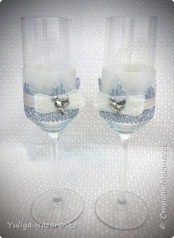 Гамма: серебро + цвет шампанского. Ниже мастер - класс) фото 10
