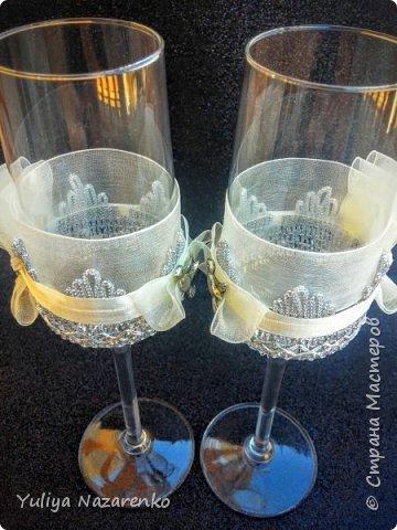 Гамма: серебро + цвет шампанского. Ниже мастер - класс) фото 17