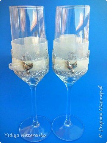 Гамма: серебро + цвет шампанского. Ниже мастер - класс) фото 12
