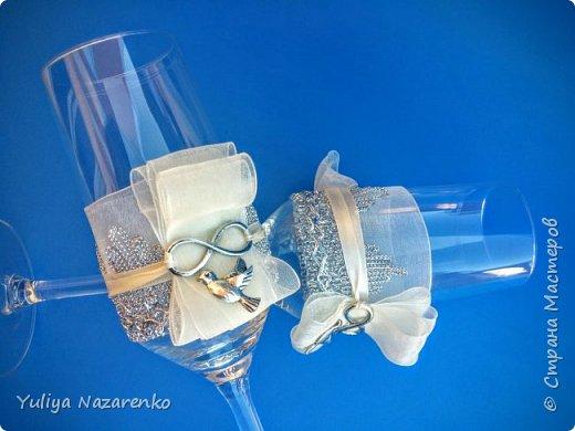 Гамма: серебро + цвет шампанского. Ниже мастер - класс) фото 14