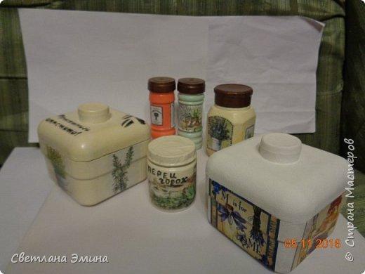 Баночки для кухни, все используются фото 2