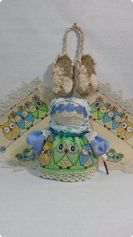 Куколка Крупеничка с совушками. фото 5