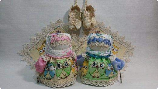 Куколка Крупеничка с совушками. фото 2