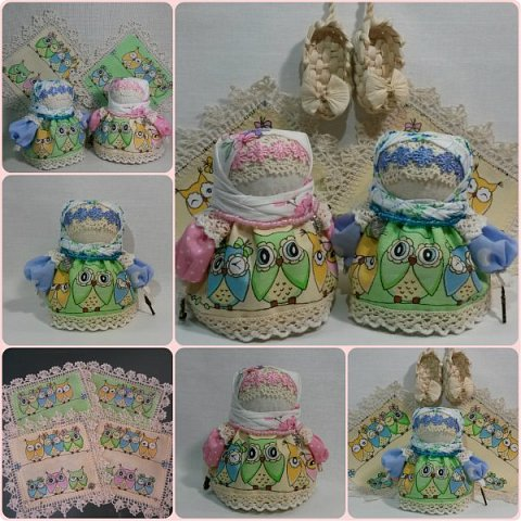 Куколка Крупеничка с совушками. фото 1