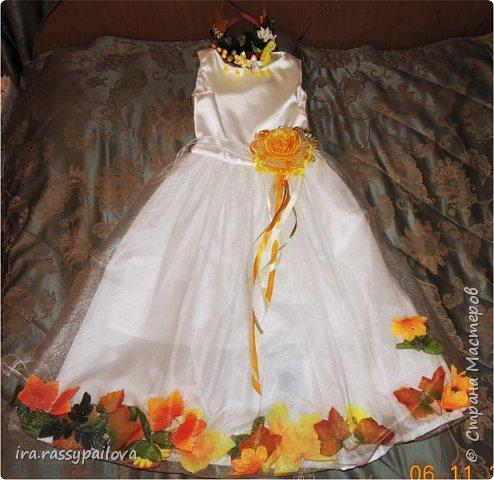 сшила платье специально к осеннему балу фото 4