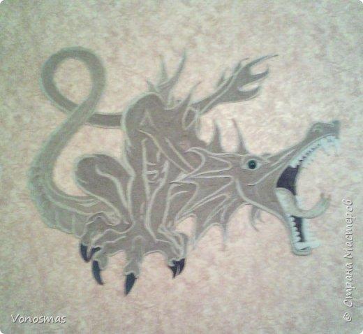 всем салют!!! это дракон из джутового шпагата. И немного пошаговых фото. фото 21