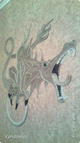 всем салют!!! это дракон из джутового шпагата. И немного пошаговых фото. фото 22