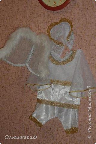 На Новый год - костюм ангелочка 1