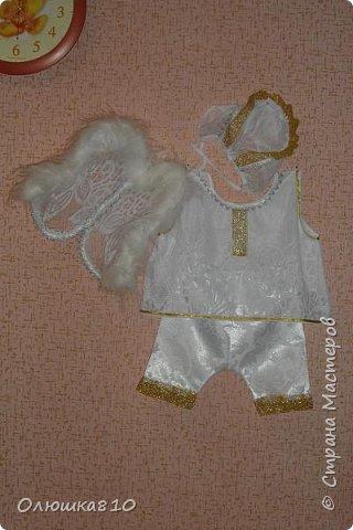 Рождественский ангел - карнавальный костюм а малыша