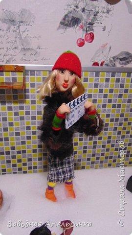 """Работа олимпиадная посвящена году российского кино. На областную олимпиаду семей воспитывающих детей с особенностями развития (инвалидов). Съемочная площадка  сказки """"Морозко"""" фото 5"""