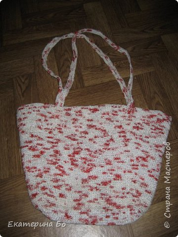 "Вот такая у меня сумочка связалась из ""бабушкиного квадрата"". фото 3"