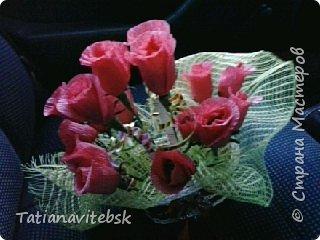 Подружка просила декорировать ей для работы стеклянную вазу. Все видно -жгутики, яичная скорлупа. фото 5