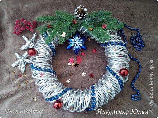 Рождественские и новогоднии венки фото 1