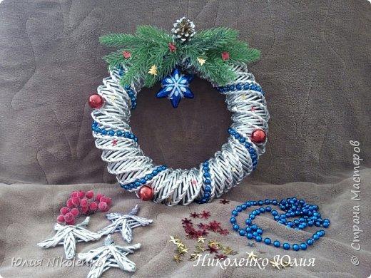 Рождественские и новогоднии венки фото 2