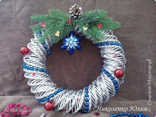 Рождественские и новогоднии венки фото 3