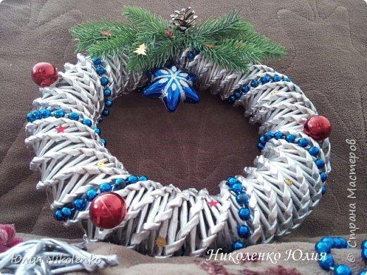 Рождественские и новогоднии венки фото 4